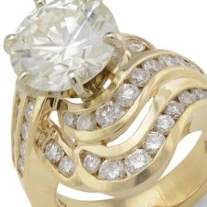 diamonds, gold and fine estate jewelry