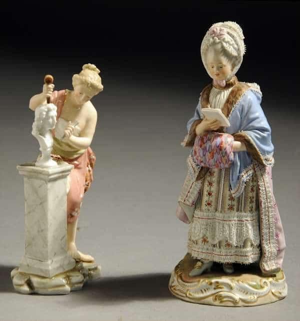 19th century Meissen figure